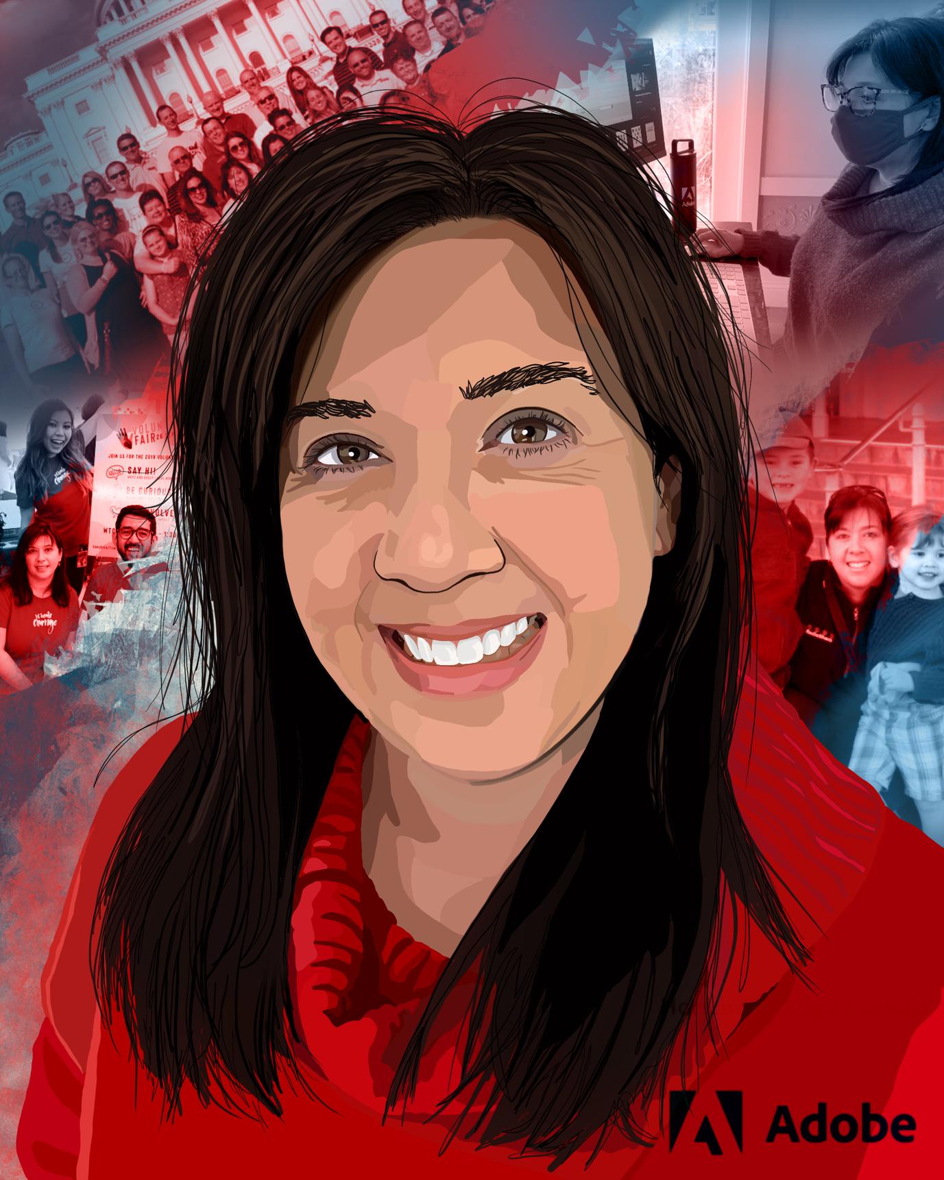Ginna Baldassarr, manager, product management