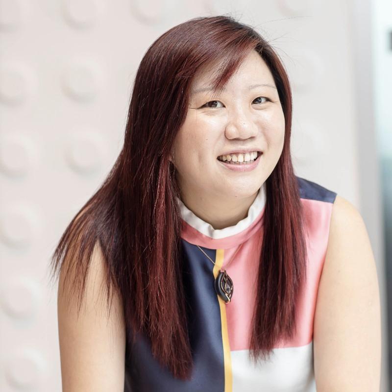 Anna Goh, senior sales account executive, Singapore