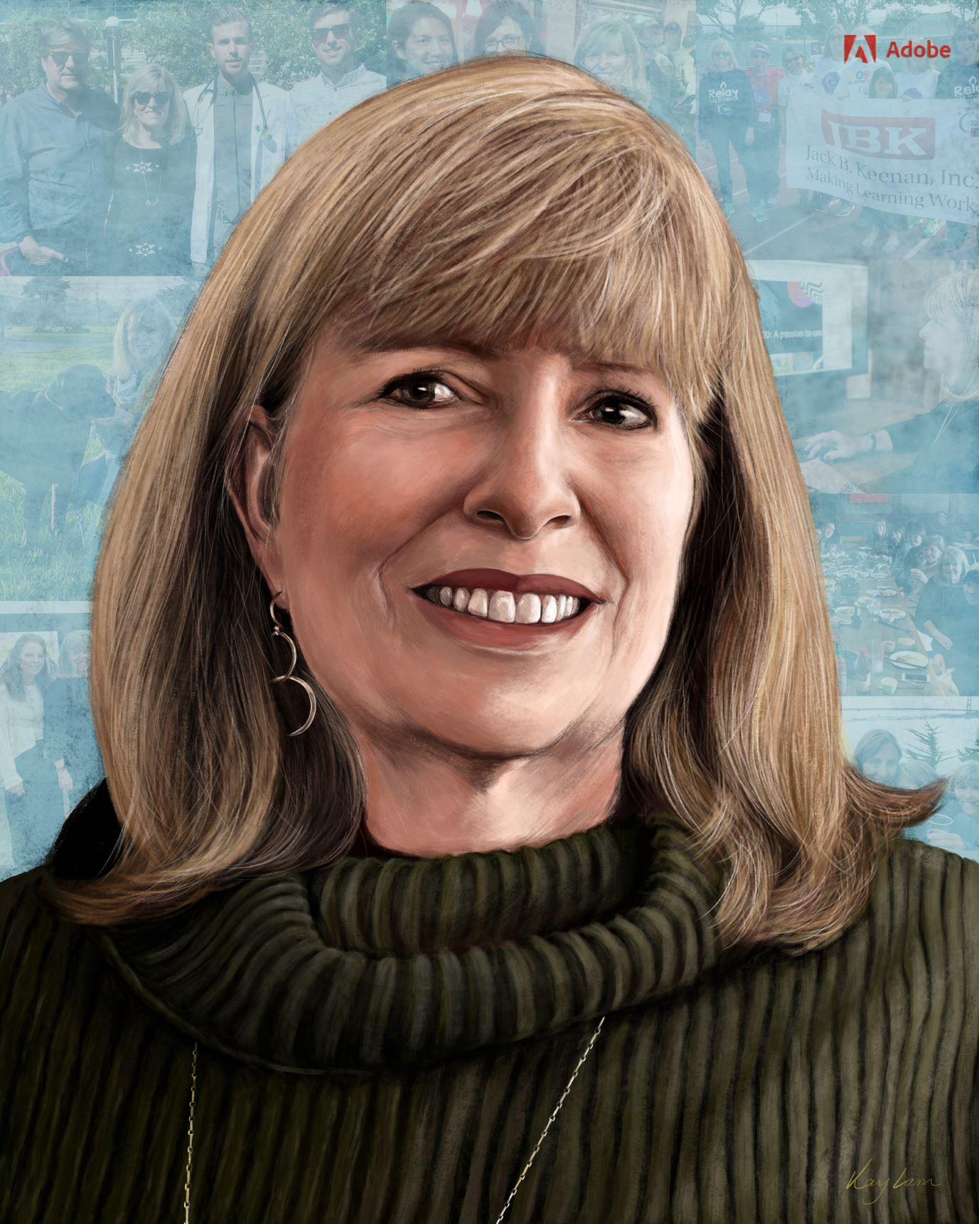 Patricia Patterson, chief copy editor